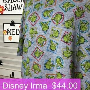 LuLaRoe Disney Kermit Irma MEDIUM **NEW**